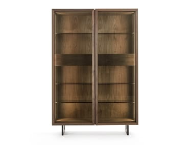 Solid wood display cabinet VITREA 1 - 2