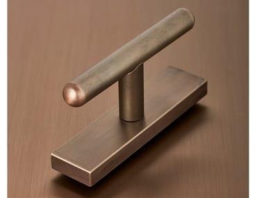 Brass door handle / window handle VITRUVIO TONDA