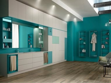 Custom bathroom furniture VIVI FLAT