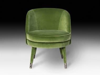 Upholstered velvet easy chair VIVIEN | Easy chair