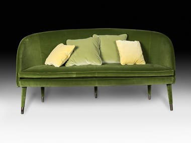Velvet small sofa VIVIEN | Small sofa