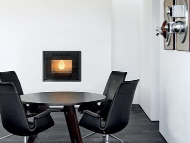 Pellet Boiler fireplace VIVO 90 HYDRO