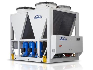 Outdoor monobloc air-water units VLE 150 - 570 kW