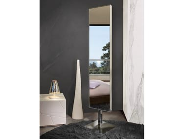 Double-sided freestanding swivel mirror VOILÀ