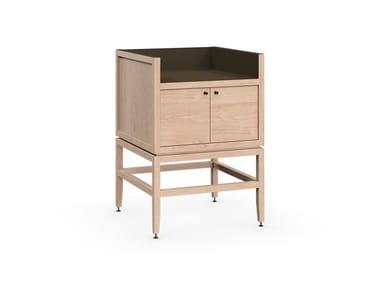 2 doors coffee bar cabinet VOLITARE | Bar cabinet