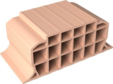 Slab clay block VOLTERRANE H20X50