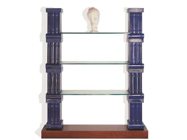 Open double-sided ceramic bookcase VOLUME