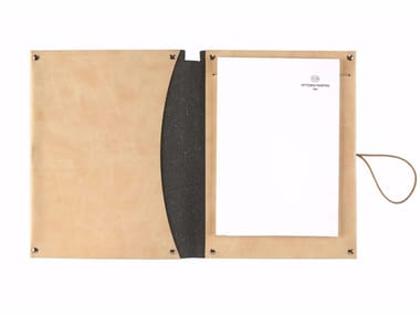 A5 notepad folder in nubuck VT A5/D