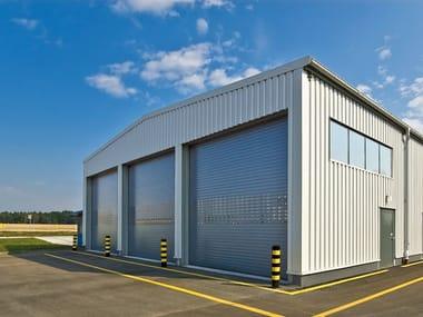 Vertically sliding industrial door Vertically sliding industrial door