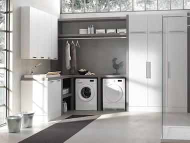 Mobile lavanderia componibile W&D - COMPOSIZIONE 4