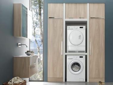 Mobile lavanderia componibile W&D - COMPOSIZIONE 9