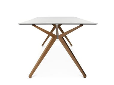 Rectangular table W-TABLE | Rectangular table
