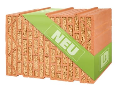 Thermal insulating clay block W07 SILVACOR