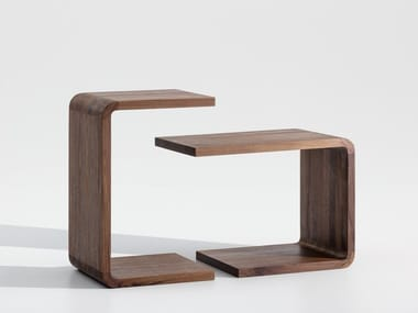 Wooden side table WAITER & WAITRESS | Side table