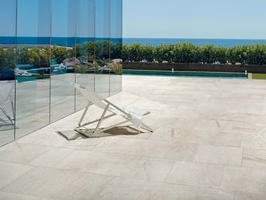 Indoor/outdoor porcelain stoneware flooring WALKS 1.0