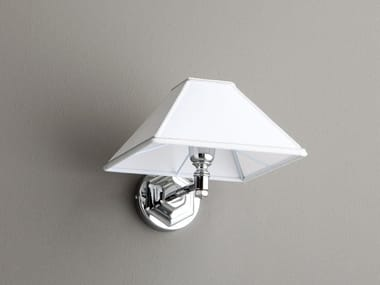 Fabric wall lamp for bathroom WALL LAMP PYRAMID HAT