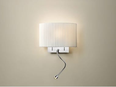 LED fabric reading lamp WALL STREET FL