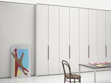 Wooden office partition WALL SYSTEM | Wooden movable wall