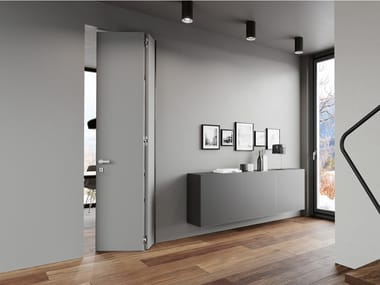 Puerta a ras de pared plegable sin marco WALLDOOR DOUBLE'
