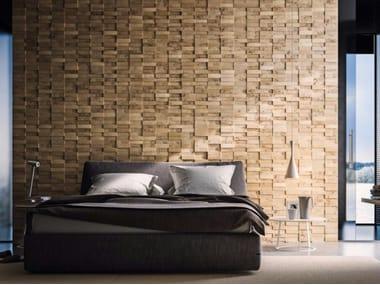 Pannello con effetti tridimensionali in legno WALLS