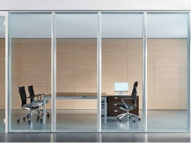 Acoustic Glass Office Partition WALLTECH