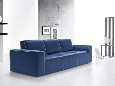 3 seater fabric sofa WALLY | Sofa