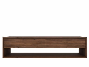 Walnut TV cabinet WALNUT NORDIC | Walnut TV cabinet