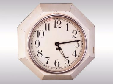 Wall-mounted metal clock WANDUHR-WALL CLOCK