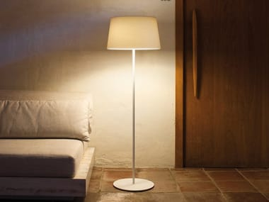 Glass-fibre floor lamp WARM 4906