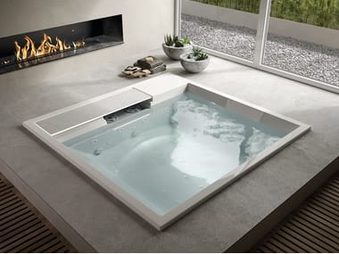 Square synthetic material hot tub WATERDREAM