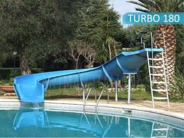 Tobogán de gran velocidad WATERSLIDE TURBO180