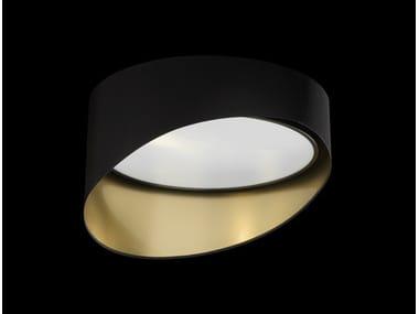 LED powder coated aluminium ceiling lamp WAVE 550