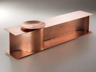 Copper bench WAVE