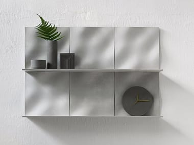 Concrete wall shelf WAVE | Wall shelf
