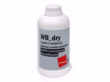 Additivo deumidificante macroporoso WB_dry
