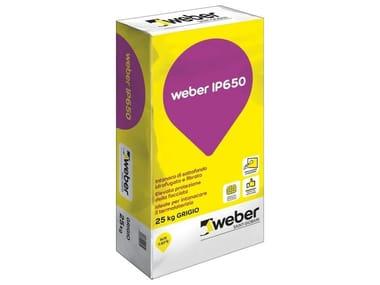 Intonaco premiscelato di sottofondo WEBER IP650