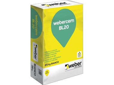 Adesivo rasante WEBERCEM BL20