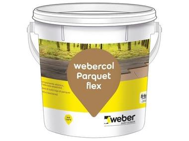 Adesivo monocomponente elastico WEBERCOL PARQUET FLEX