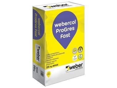 Adesivo cementizio WEBERCOL PROGRES FAST