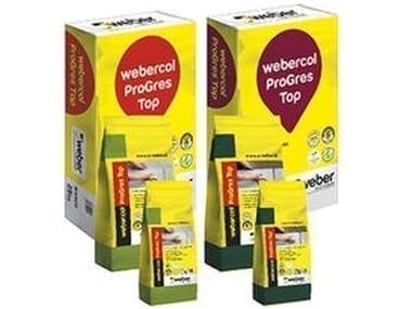 Adesivo cementizio deformabile con adesione e resistenza elevate WEBERCOL PROGRES TOP S1
