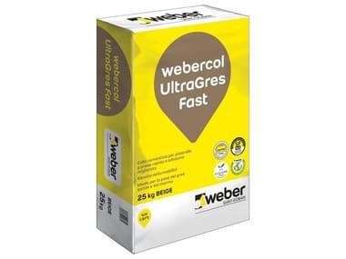 Adesivo cementizio WEBERCOL ULTRAGRES FAST