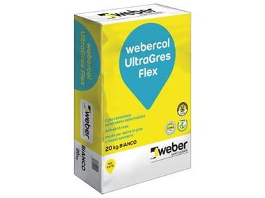 Adesivo cementizio WEBERCOL ULTRAGRES FLEX