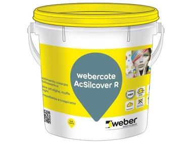 Rivestimento colorato acril-silossanico WEBERCOTE ACSILCOVER R