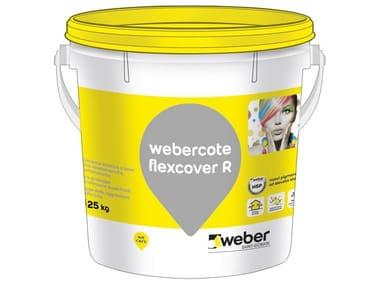 Rivestimento elastico a base di resine WEBERCOTE FLEXCOVER R