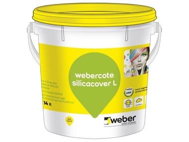 Pittura minerale colorata ai silicati WEBERCOTE SILICACOVER L