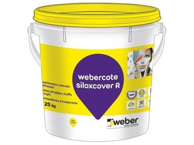 Pittura colorata ai silossani WEBERCOTE SILOXCOVER F