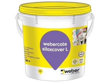 Pittura colorata ai silossani WEBERCOTE SILOXCOVER L