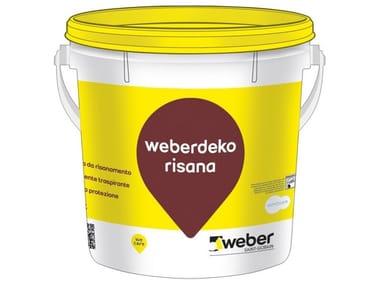 Idropittura da risanamento WEBERDEKO RISANA