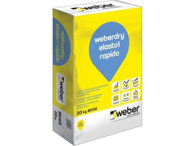 Guaina elasto-cementizia WEBERDRY ELASTO1 RAPIDO