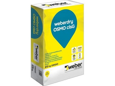 Thermo insulating mortars WEBERDRY OSMO CLSG